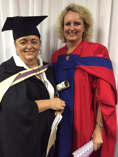 Jeanne Wilkinson Masters Graduation 2015