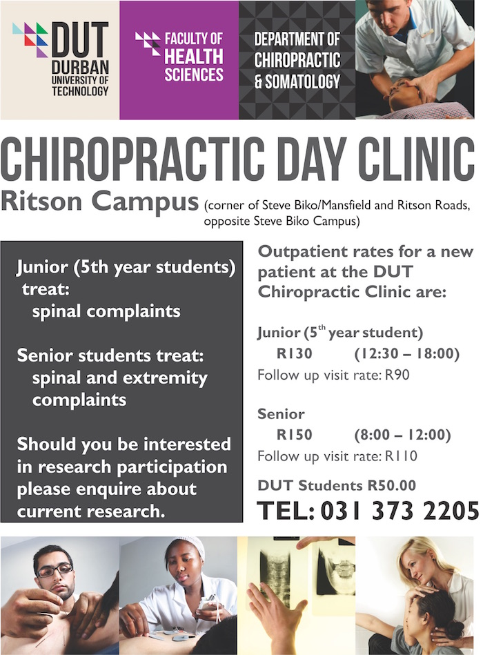 Chiro clinic Web flyer