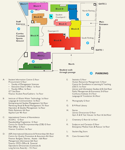 Midlands Tech Campus Map.Maps And Directions Durban University Of Technology