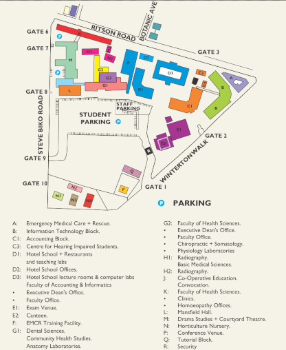 Ritson Campus site map 20-09-18