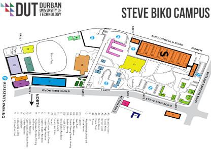 Steve Biko map