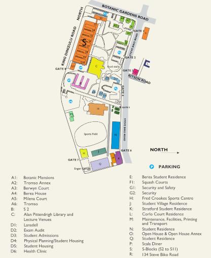 Steve Biko site map 20-09-18