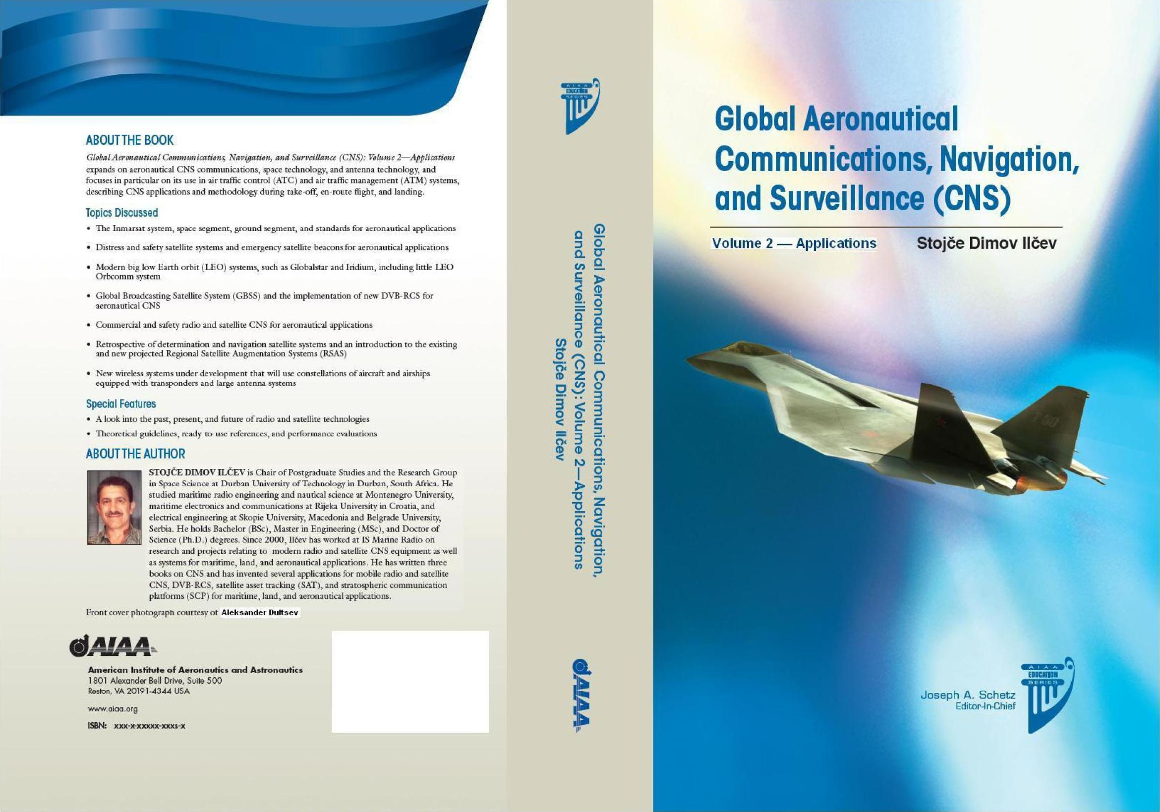 5th Book of Prof. Ilcev as only Author Published in 2013