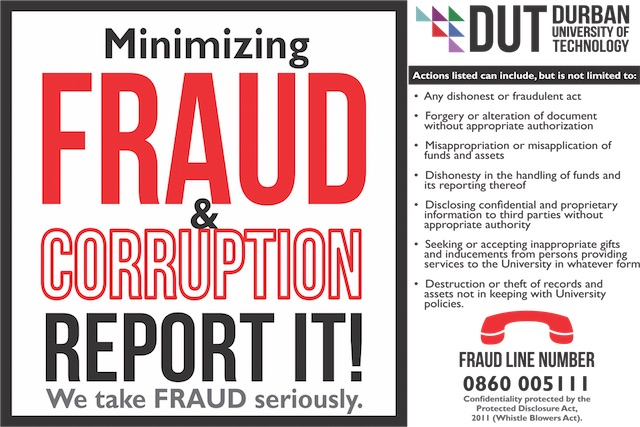 Fraud and Corruption Notice