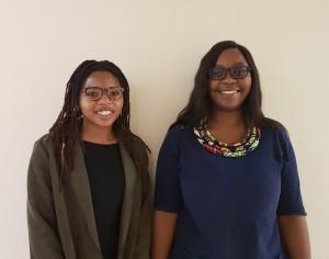 Intern Psychologists 2019. Left Miss. Pamela Tembe, right: Miss. Vuyelwa Dladla
