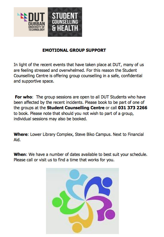 EMOTIONAL GROUP SUPPORT