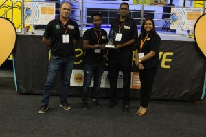 EWSETA and IEETR Staff receive award at Africa Energy Indaba