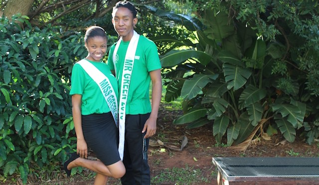 DUT's Mr and Miss Green