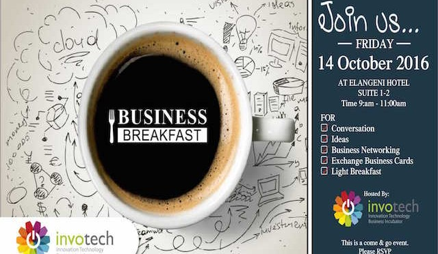 Invite - InvoTech Business Breakfast