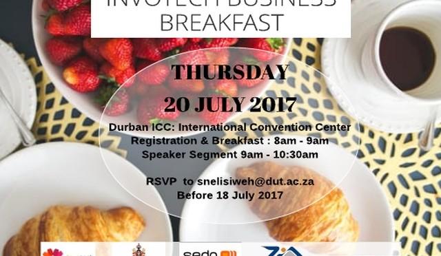Business Breakfast ad July