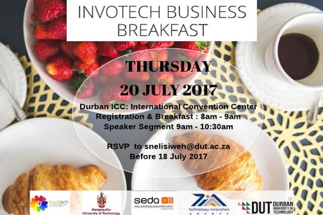 Business Breakfast ad July