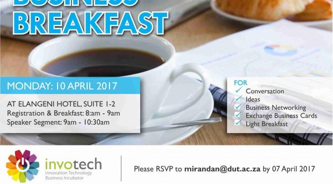 INVOTECH_Business Breakfast_April 2017