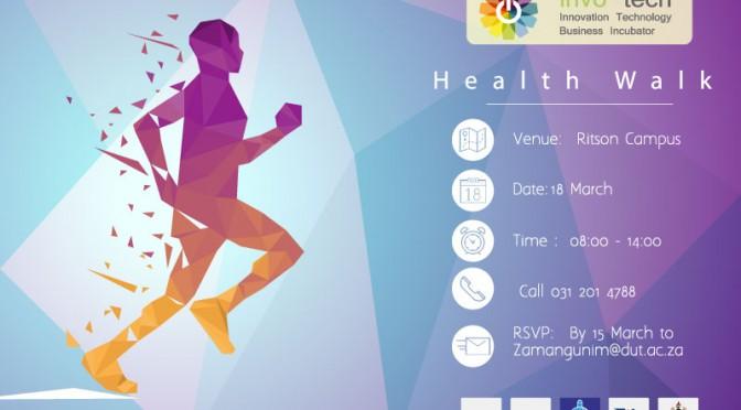 updated health walk advert