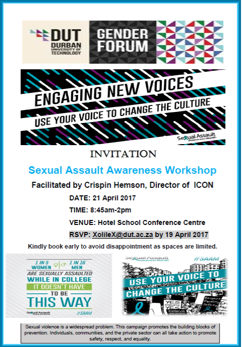 Gender Forum Invite Sexual Assault Awareness Workshop 21April 201.jpg