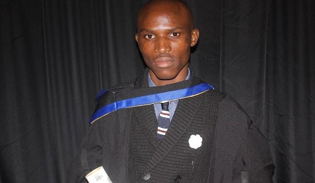 Thobani Msomi graduation