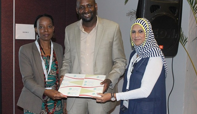 Prof Moyo, Prof Adam and Prof Mgutshini