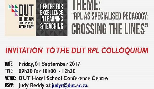 Invitation RPL Colloquium