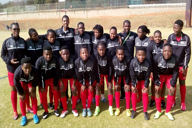 DUT Ladies Football team