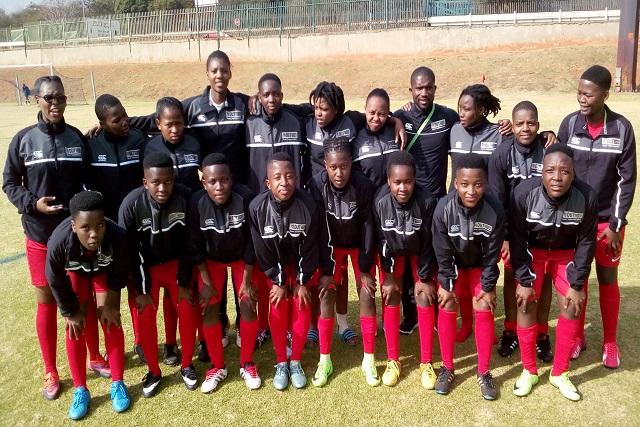 DUT Ladies Football team