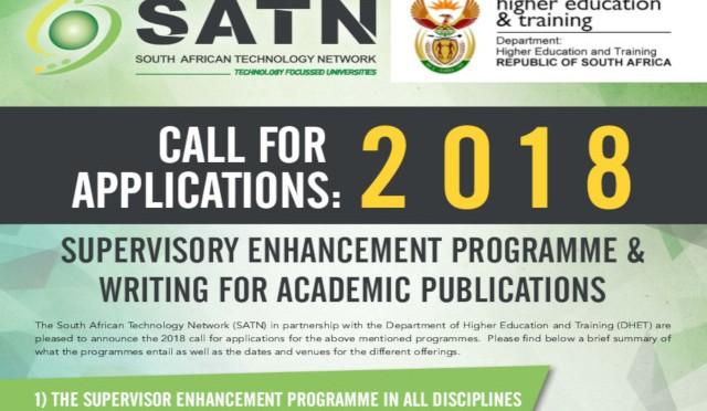 SATN Enhancement programmes