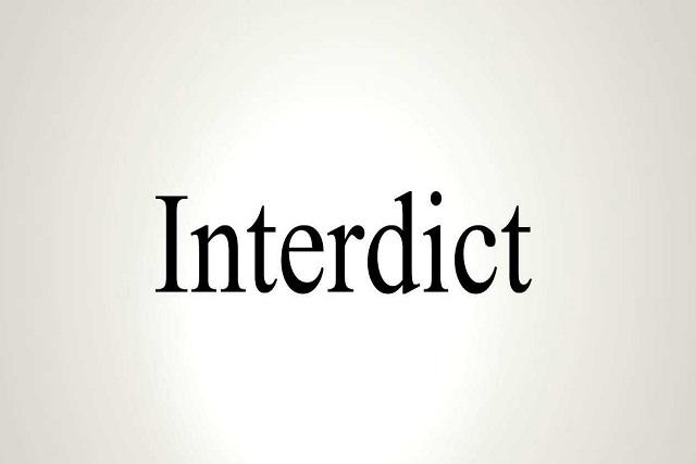 interdict