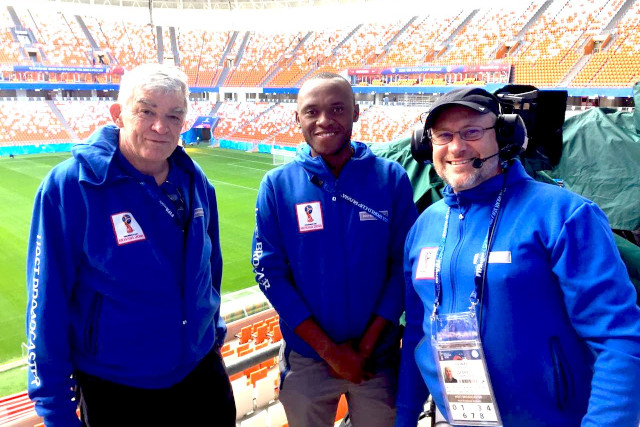 DUT Represented at the 2018 FIFA World Cup in Russia