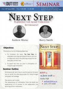 Seminar Invitation  The next step