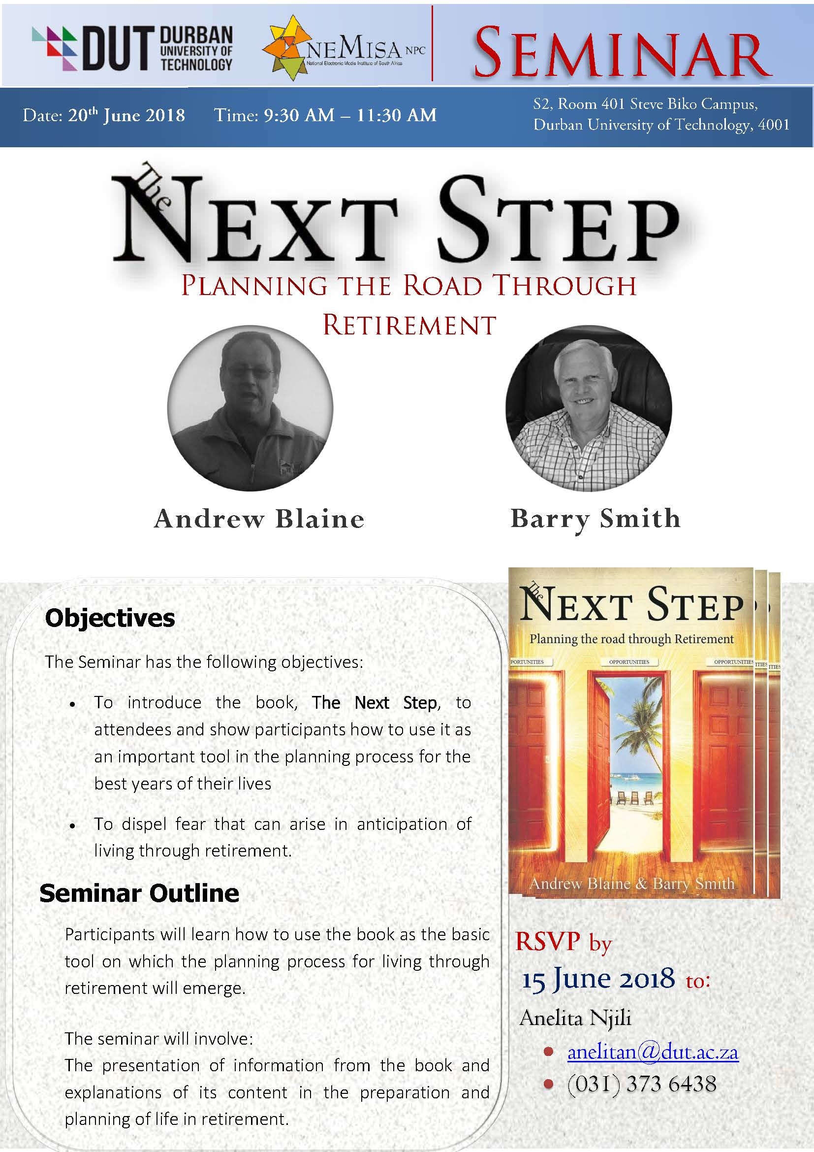 Seminar- Next step – planning the Road to retirement