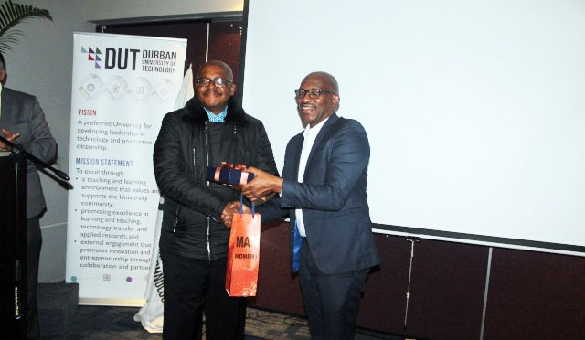 Dr Martin Mandew, Professor Thandwa Mthembu