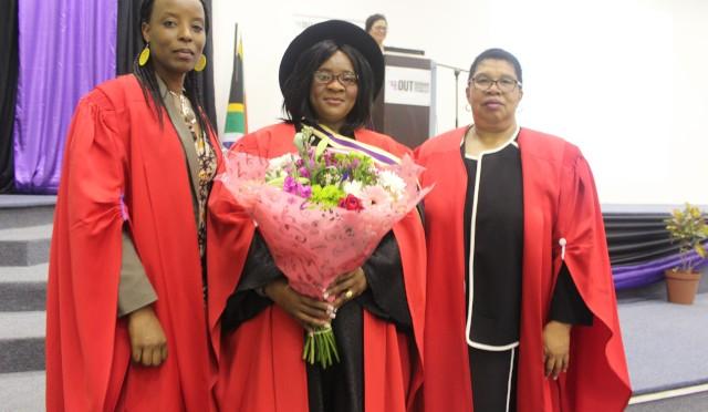 Prof Moyo, Prof Sibiya and Prof Gwele