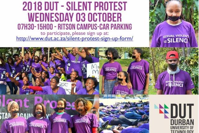 2018 DUT Silent Protest