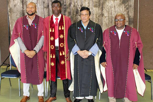 Dr David Mohale,esiyanda Godlimpi,Dr Thiru Pillay,Malusi Nxumalo