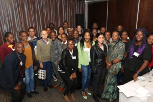 Delegates at the First Community Engagement Monitoring and Evaluation Symposium