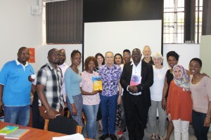 Attendees during the book launch