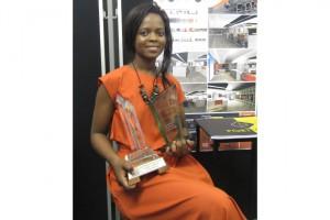 Interior Design third year student Thabiswa Nkonyeni