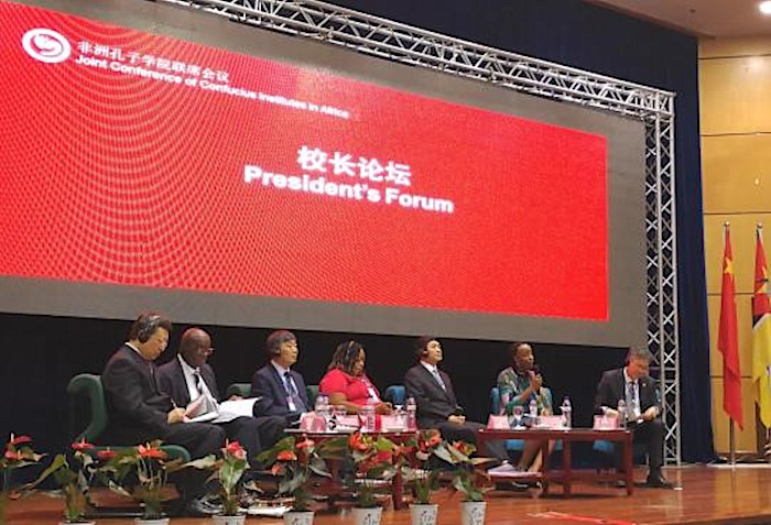 Prof Moyo represented DUT in President's Forum