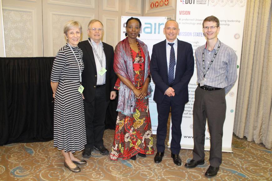 SAAIR 2018 Conference delegates