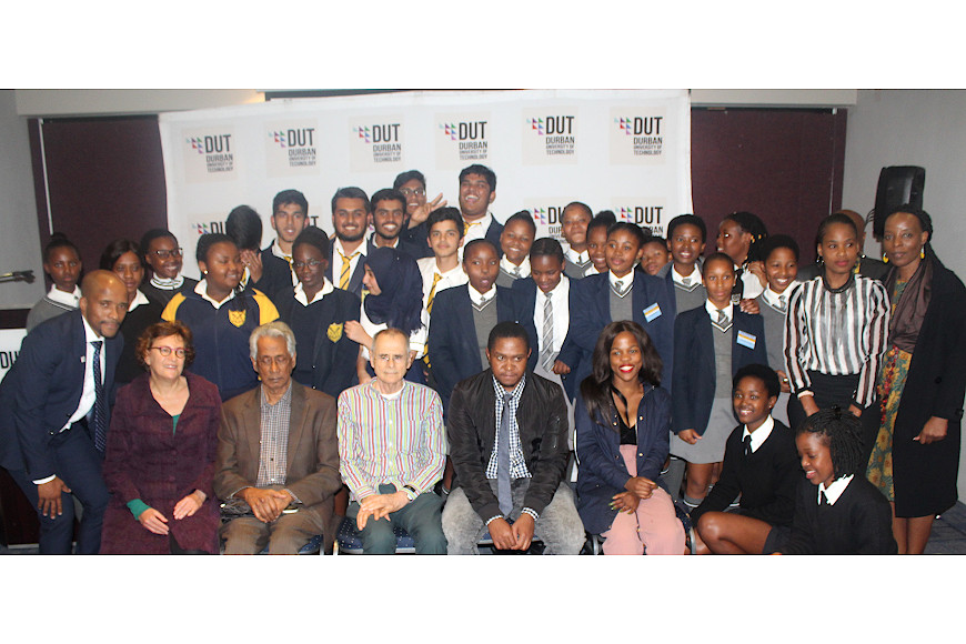 Some of the participants at the DUT School Engagement Project Launch