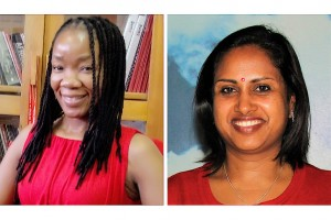 Indrani (Hazel) Govender and Maud Blose