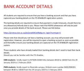 bank acounts for allowance1
