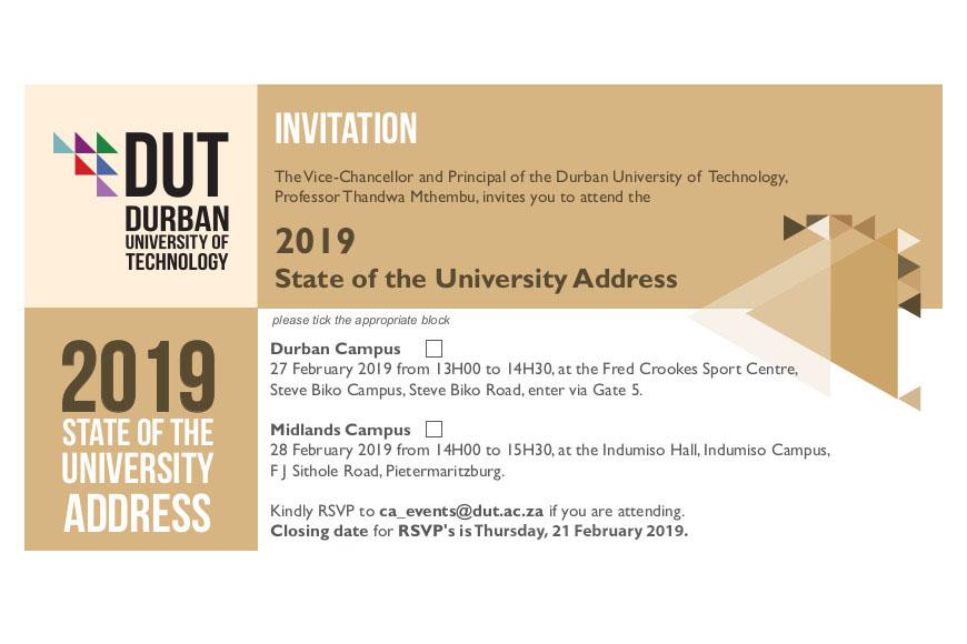 State-of-the-University-address