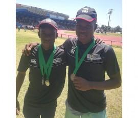 Wandile Nkosi and Khanyisani Mabaso