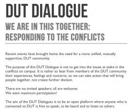 DUt dialogue