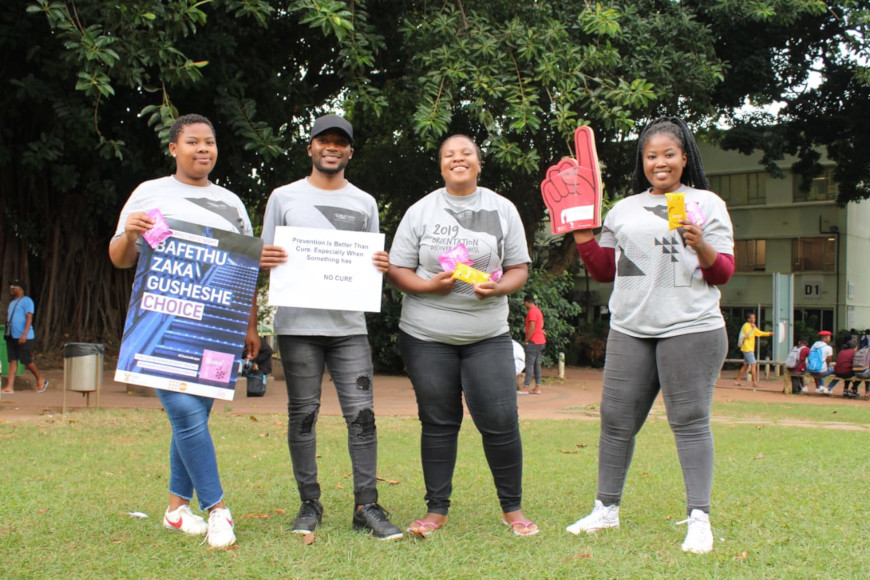 HIV AND aids awareness team