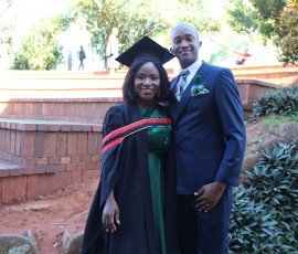 Nondumiso and her husband