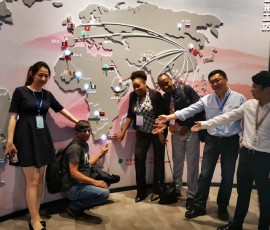The DUT delegation with Huawei China
