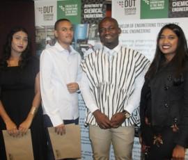 DUT students won awards