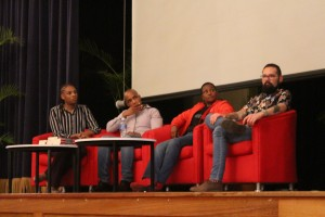 speakers at the LGBT Awareness Dialogue