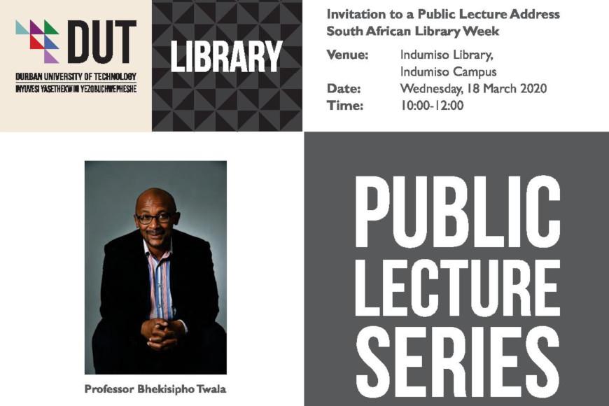 public lecture invite
