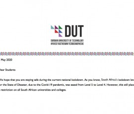 dutstudents statement